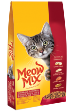 Meow Mix 174 Cat Food Products Dry Food